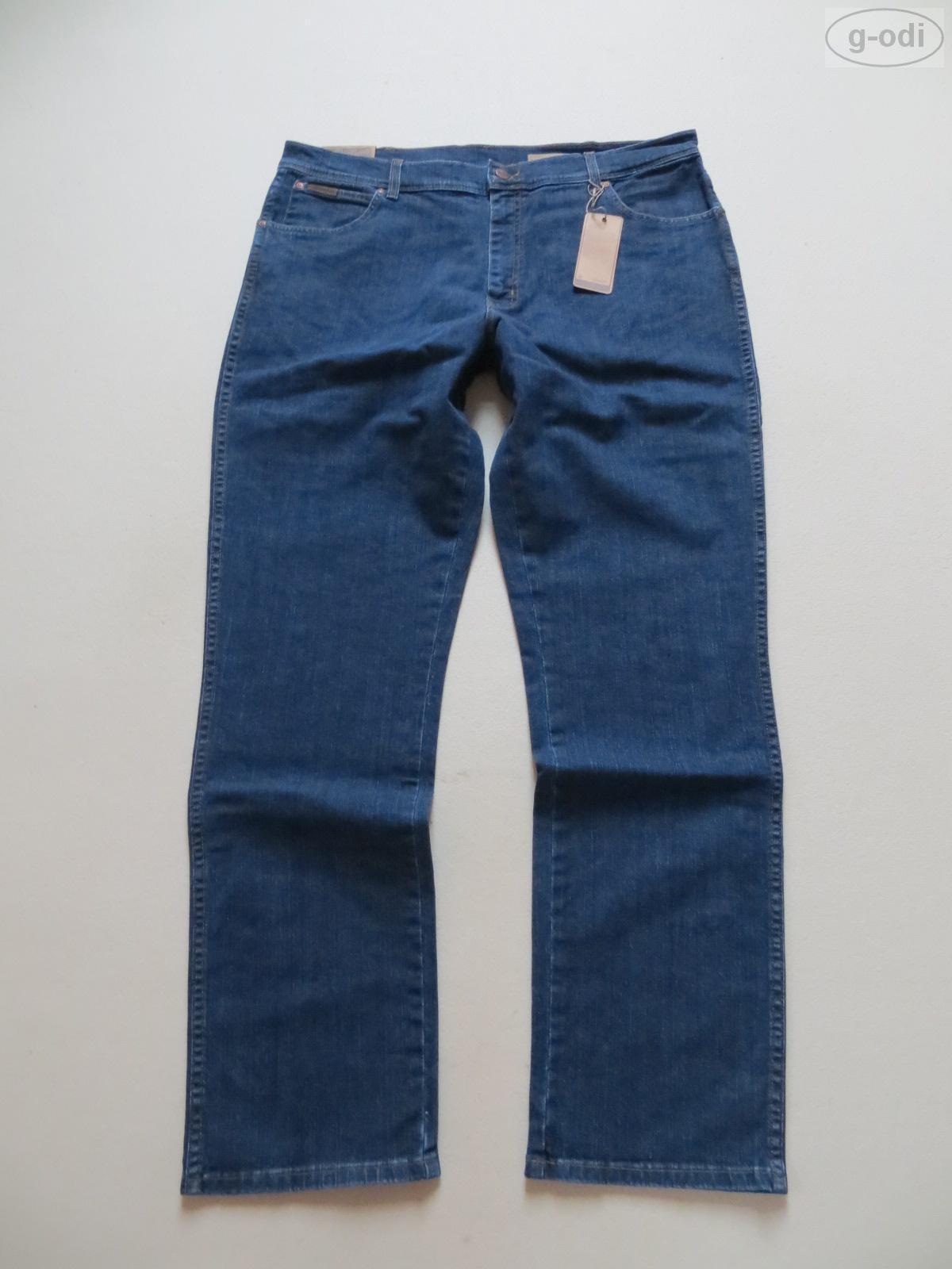 Wrangler TEXAS Stretch Jeans Hose, W 38  L 34, NEU   Dark Indigo Denim, Bequem