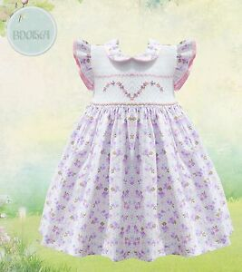 Pretty-Originals-Smocked-Dress-with-Headband-Style-BD01564-Age-18m-5years