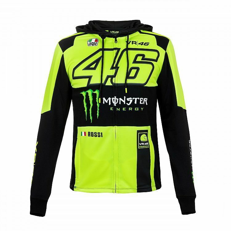 FLEECE REPLICA MONZA 2018 COLLECTION VALENTINO ROSSI 46 THE DOCTOR MAN