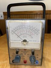 Vintage Rca Wv 77e Voltohmyst Powers Up Untested