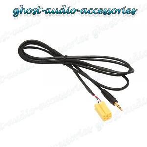 Interfaz de entrada AUX en Adaptador Coche Radio Estéreo para IPOD MP3 Mercedes clase a