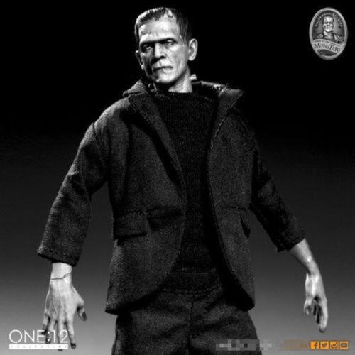 Frankenstein COLLECTOR/'S Figura di Halloween in magazzino Realistico scala di grigi