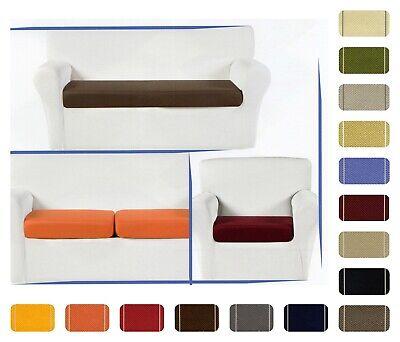 Copricuscino 3 Posti Per Seduta Divano Elasticizzato Glove Vari Colori