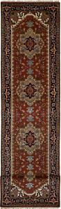Hand-knotted-Carpet-2-039-6-034-x-11-039-9-034-Serapi-Heritage-Traditional-Wool-Rug