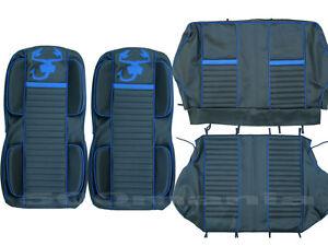 serie sitzbez ge sport f r fiat 500 f l mit polsterung. Black Bedroom Furniture Sets. Home Design Ideas