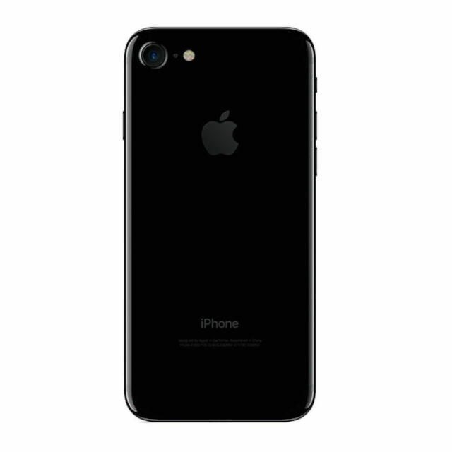Apple iPhone 7 256GB GSM Unlocked (for every GSM Carriers) Jet Black