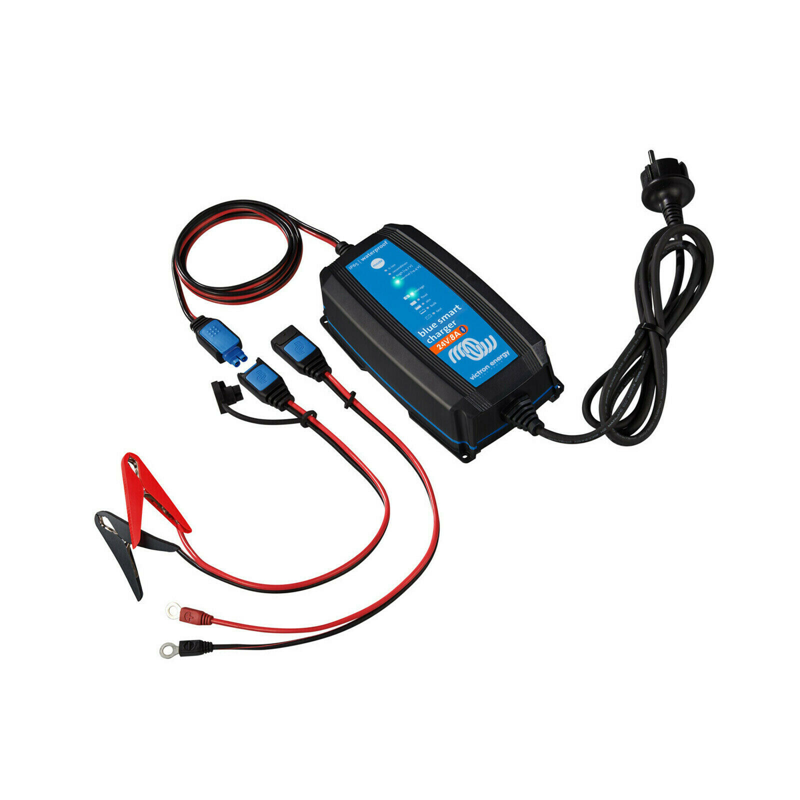 Victron BlueSmart IP65 Battery Charger 24V/8A w/ DC Connector