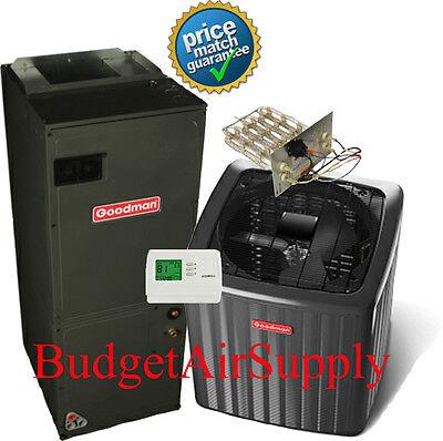 2 Ton Goodman A/C 16 Seer Air Conditioning Split System GSX160241+ASPT30C14