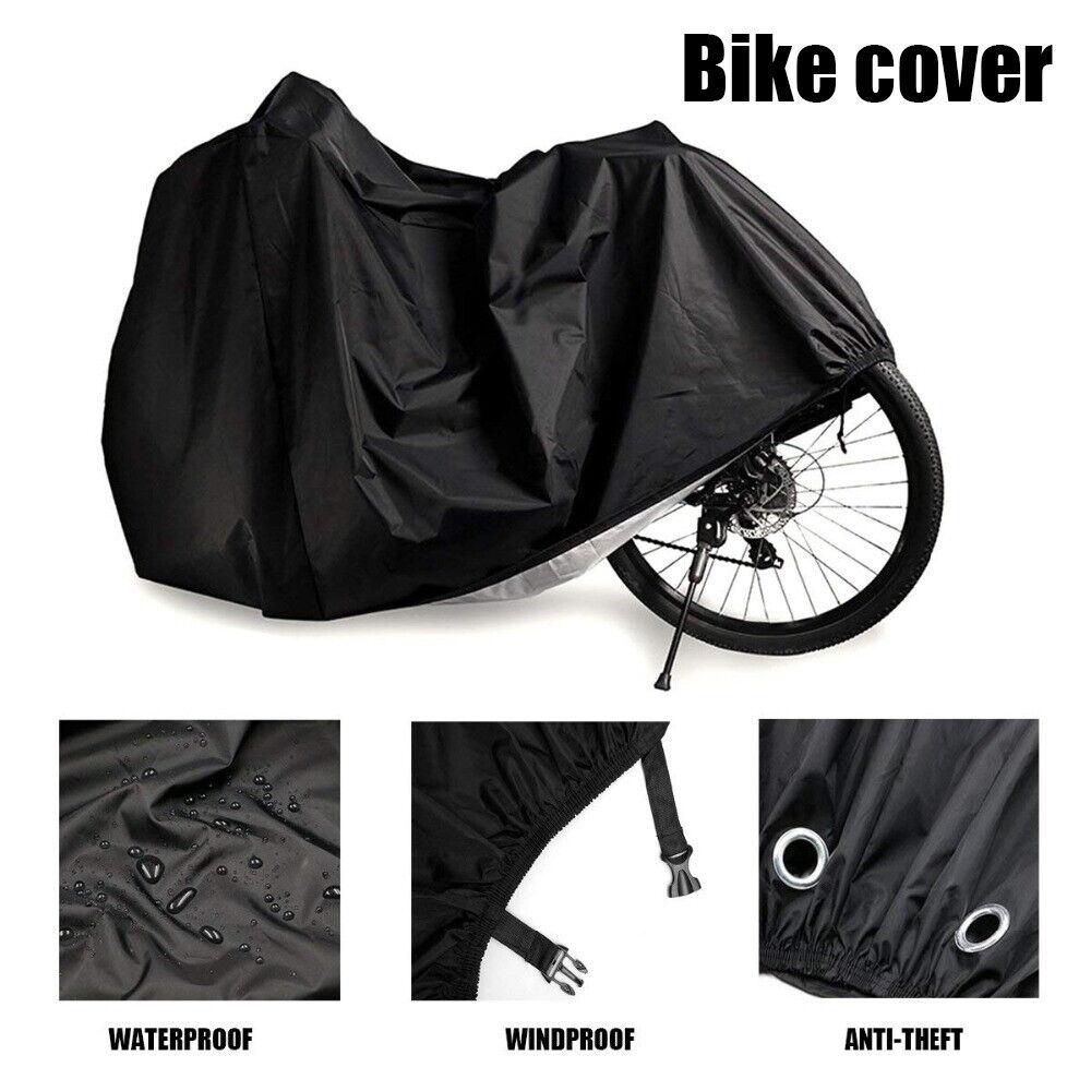 MOVTOTOP Waterproof Rain Dust UV Protection for Indoor Outdoor Bike Cover XL