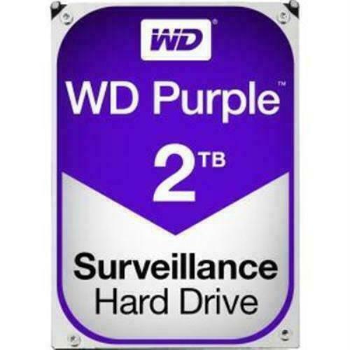 "WD20PURZ WD Disque Dur HD 2To Audio Vidéo SATA 3.5/"" AllFrame 4K WD20PURZ"