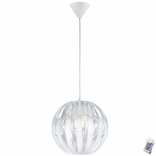 Luxus RGB LED Hängeleuchte Deckenlampe dimmbar Wohnraumstrahler Farbwechsler