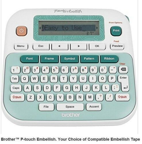 Compatible Brother P-Touch Embellish Ribbon Refill 12mm Gold Light Green RLG31