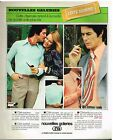 Publicité Advertising 1975 Pret a porter les vetements Hommes Nouvelles Galeries