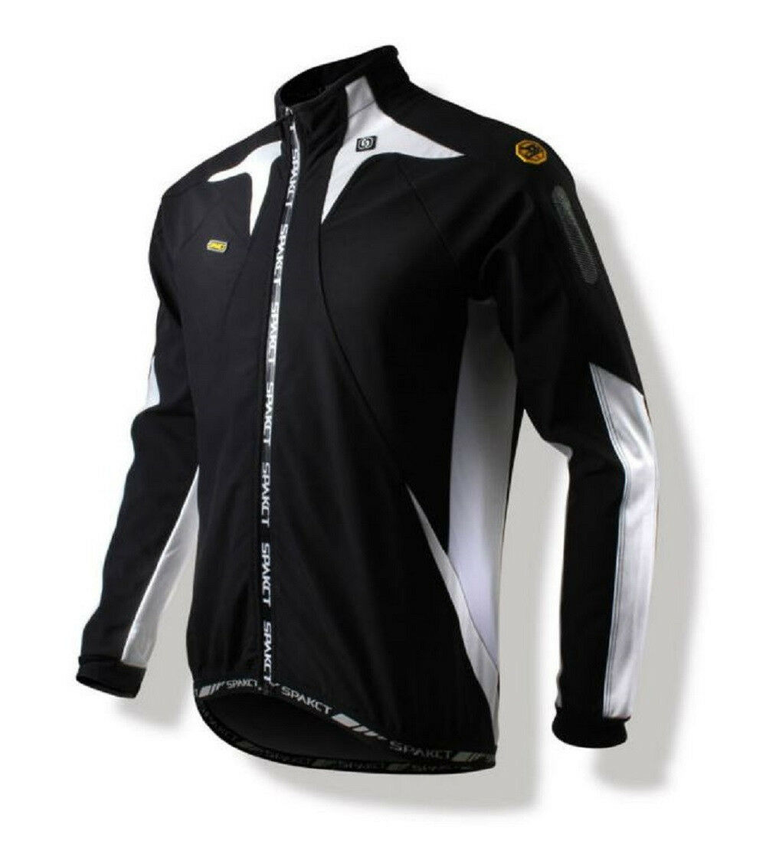 Spakct Polar Resistente al viento Ciclismo Terciopelo chaqueta  C6 Auricular Negro Y blancoo Xl Sun Projoector  barato