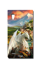 COVER CASE PROTETTIVA DRAGO WHITE DRAGON PER LG OPTIMUS L9 P760