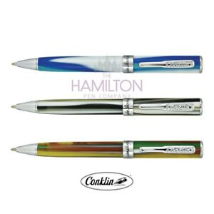 Choice of 3 Elegant Finishes CONKLIN VICTORY BALLPOINT PEN