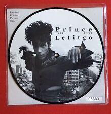PRINCE - LetItGo - Rare UK Limited Edition Picture Disc (Vinyl Record) Let It Go