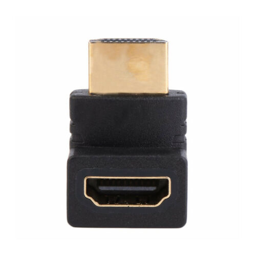 90 degree Swivel Rotating HDMI Male to Female Adapter Angle Convertor
