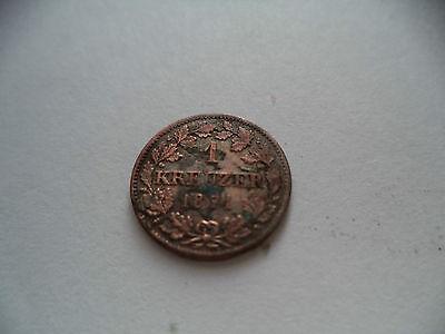 1 Kreuzer 1871 Bayerischer Scheidemünze - Bayern