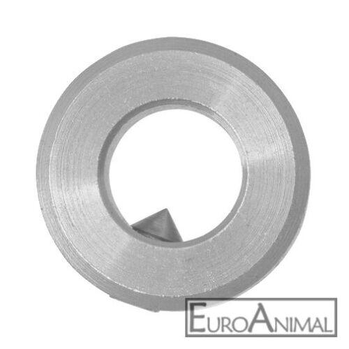 Stellring Stellringe 8mm bis 25mm DIN 705 Form A verzinkt, für Welle Achse