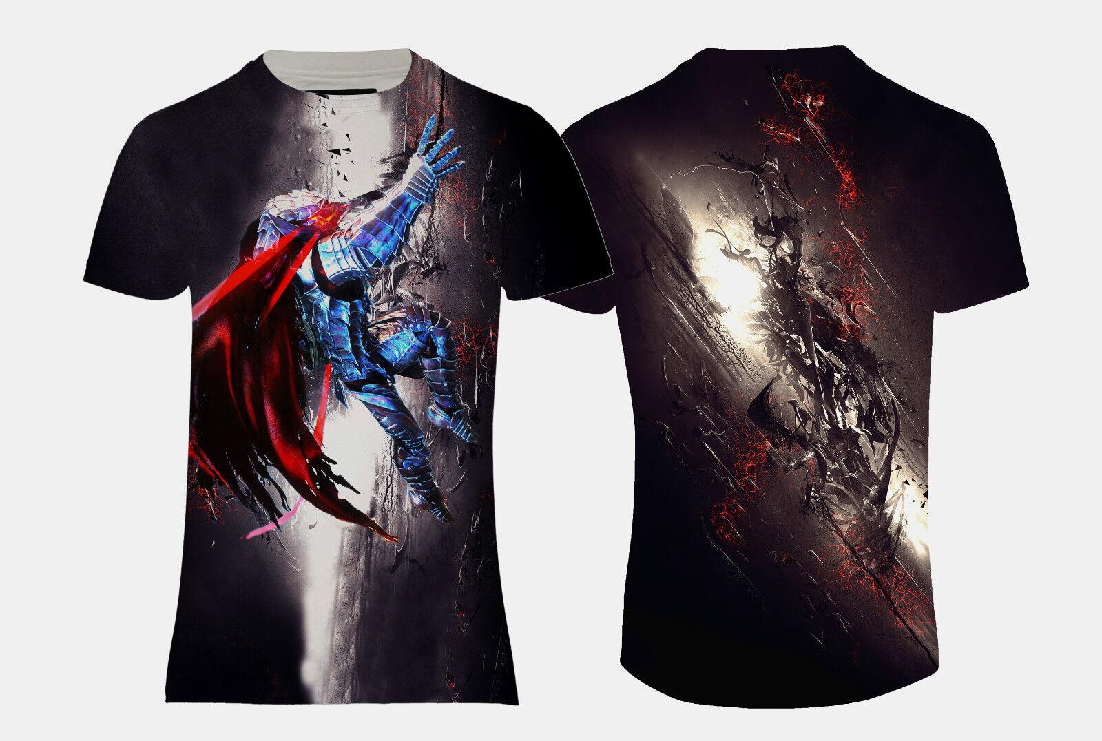 1cf3434a4a00 NEW BERSERK ANIME MANGA DESIGN ALL FULLY PRINTED TOP REGULAR SIZE T-SHIRT  OVER nwtgop10089-T-Shirts