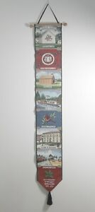 Putnam County Ohio Tapestry Bellpull 25th Anniversary Council on Aging 2003