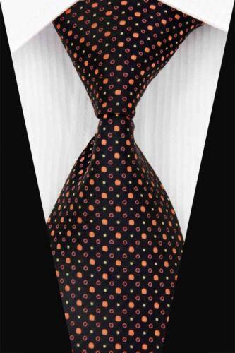 Blue Black Lattice Paisley Wedding Stripe Necktie Mixed Silk Business Men/'s Tie
