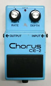 BOSS-CE-2-Chorus-Guitar-Effects-Pedal-made-in-Japan-73-Free-Shipping
