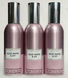 3-Bath-amp-Body-Works-ROSE-WATER-IVY-Mini-Concentrated-Spray-Mist-Room-Perfume