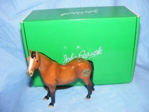 John-Beswick-Riding-Pony-Bay-Horse-JBH48-Figurine-NEW-Boxed-Gift-Present
