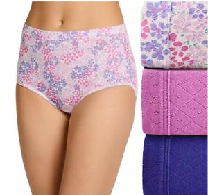 Jockey 3-Pack Elance Briefs (LAVENDER SCENT ASST) Breathe Classic Underwear