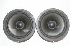 2pcs. Audax Aerogel speakers AP210Z0 200mm Bass/Mid 6Ohm, 1pcs. with defects