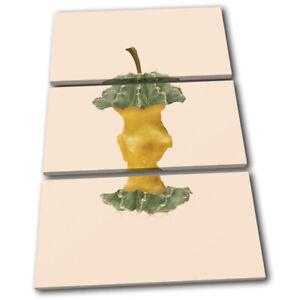 Apple-Cactus-Concept-Fruit-Food-Kitchen-TREBLE-CANVAS-WALL-ART-Picture-Print