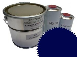 1,5 Liter Set 2K Floor Color Floor Ral 5022 Vinyl-Epoxid-Lack Lackpoint Shine