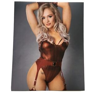 SCARLETT-BORDEAUX-8x10-COLOR-PHOTO-WWE-ROH-ECW-TNA-NXT-HOH-IMPACT-WRESTLING-AEW