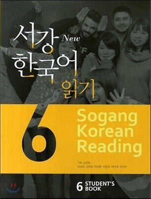Sogang Korean 6 Student's Book  Korean language Free Ship