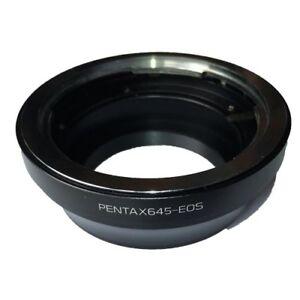 Bague-d-039-adaptation-objectif-Pentax-645-vers-boitier-Canon-EOS-EF