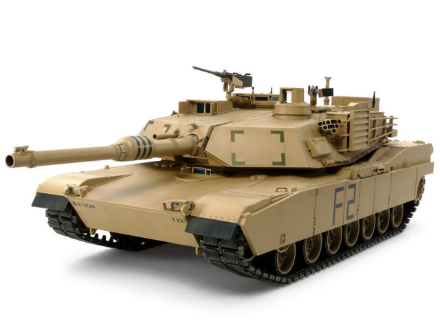 1/16  R/C M1A2 ABRAMS  U.S. Main Battle Tank  F-O Army Marines Kit  Tamiya 56041
