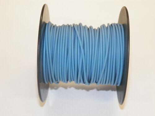 Abrasion-Resistant General Wire 12 Ga LIGHT BLUE GXL 100 FOOT SPOOL
