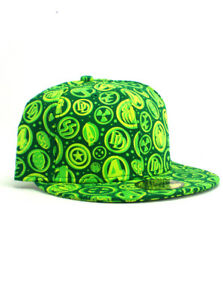 2597d9f10fd New Era Marvel Heroes 59fifty Custom Fitted Hat Size 7 1 4 Green NWT ...