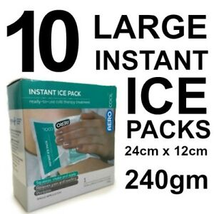 10-X-LARGE-Instant-Ice-Pack-DISPOSABLE-Single-Pack-Squeeze-amp-Shake