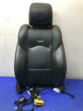 2015 Cadillac Cts Front Left Upper Seat Cushion With Bag Damaged Headrest Fits Cts V