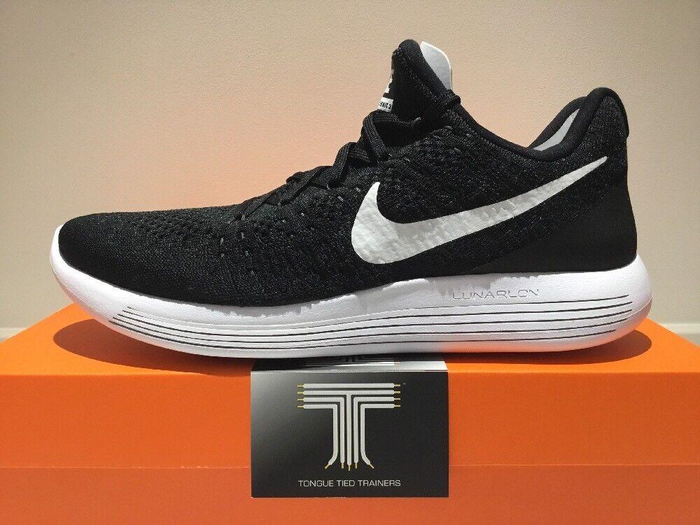 Nike Lunarepic Low Flyknit 2  863779 001  Size 7.5