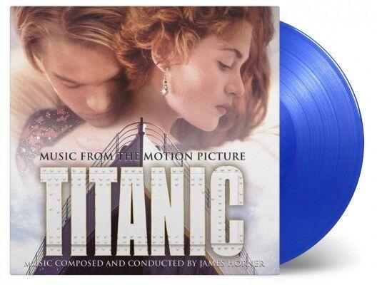 Ost James Horner - Titanic Soundtrack, 180g Transparent Blue Vinyl 2LP Sealed