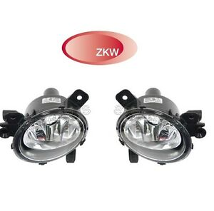 For-BMW-F30-F22-F32-F33-F36-Pair-Set-of-Left-amp-Right-Front-Fog-Lights-OEM-ZKW