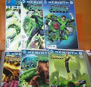 Details about DC UNIVERSE REBIRTH HAL JORDAN AND THE GREEN LANTERN CORPS  LOT OF 6 (SEE LIST)