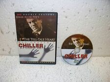 Chiller / The Tell-Tale Heart Edgar Allen Poe Double Feature DVD Out of Print