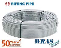 Water Underfloor heating pipe PEX-AL-PEX UFH pipe 16mm x 2mm, WRAS approved*