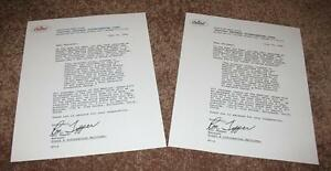 The Beatles Butcher Cover Recall Letters, (B & W & Color) Yesterday and Today