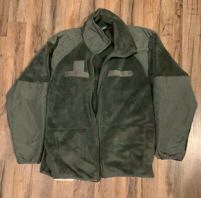Cold Weather Fleece Jacket Large Regular Gen III ECWCS Army Military L-R